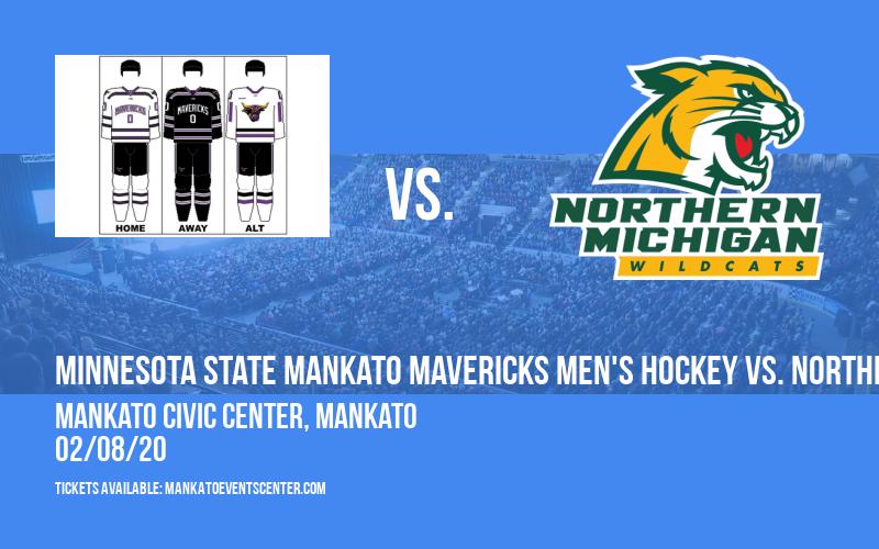 Minnesota State Mankato Mavericks Men's Hockey vs. Northern Michigan Wildcats at Mankato Civic Center