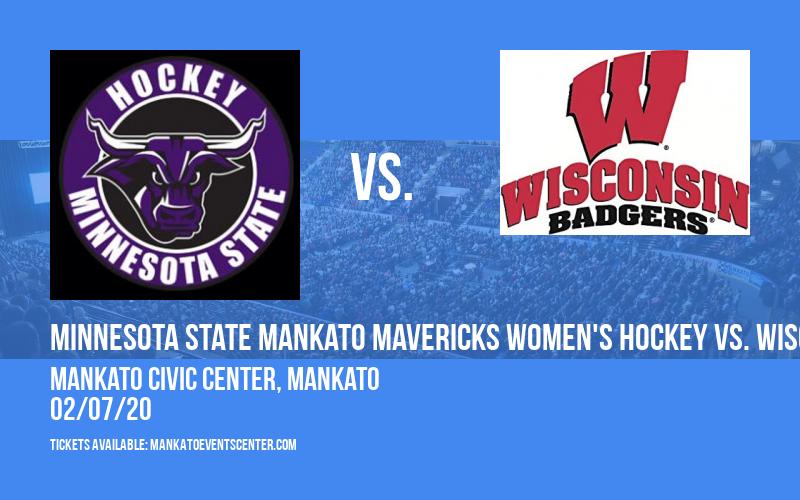 Minnesota State Mankato Mavericks Women's Hockey vs. Wisconsin Badgers at Mankato Civic Center