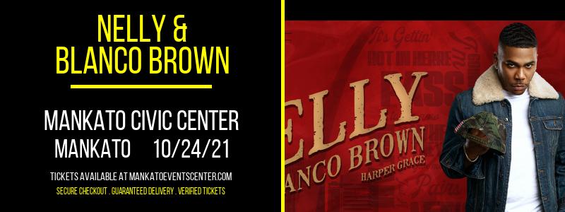 Nelly & Blanco Brown at Mankato Civic Center